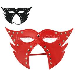 2019 vêtements de contention du sein Sexy Femmes Chat Costume Mascarade Parti Déguisements Halloween Eye Masque Pour Le Visage # R56