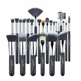 2019 escovas de tez JAF Marca de Maquiagem Profissional Brushes Set Kit Lip Powder Fundação Blush Sombra de Olho Pestana Corretivo Ferramenta Pincel 24 pçs / set
