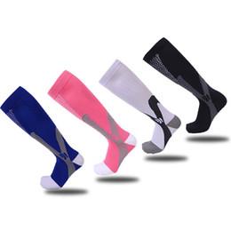 Wholesale Magic Slip - Cotton Nylon Magic Compression Sock Breathable Comfort Long Tube Football Socks Non Slip Fashion Outdoors Hosiery High Quality 12wy Y