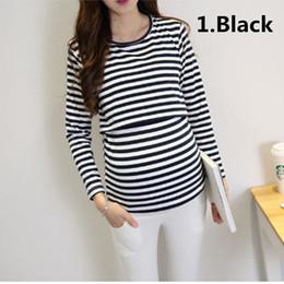 ebcd7431763 Colors Maternity Clothes Long Sleeve Breastfeeding Tops Women Nursing T- Shirt Cotton Pregnancy Nursing Tops Tees LA704324