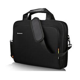 Laptop Bolsa de Ombro para Lenovo T1640 HandBag Maleta Sacos de Transporte Das Mulheres Dos Homens Notebook Sleeve Messenger Saco Portátil Preto 14