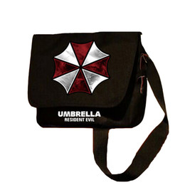 Paraguas malvado residente online-MeanCat Japón Juegos horribles Resident Evil Movie Umbrella Symbol Sling Bag Resident Evil Collection Crossbody Bags