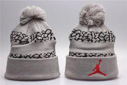 AAA Quality Brand Men Women Beanies High Quality Winter Unisex Ball Ski Rabbit  Fur Hat PomPoms Hats knitted cap 857e85c4fec3