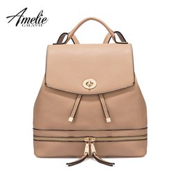Wholesale Ms Styles - AMELIE GALANTI Ms backpack fashion convenient large capacity Now the most popular style Can be shoulder to shoulder many colors