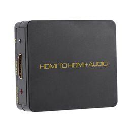 Hdmi input dvd online-ingresso per HDMI 3.5mm Stereo Audio Output Decoder per estrattore 1080P nero per Blu-ray HD DVD XBOX