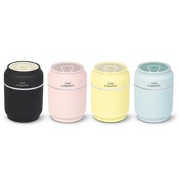 Umidificatore 3 in 1 200ml USB Forma Umidificatore 7 colori LED Aroma Lampada Diffusore di olio essenziale Diffusore Fogger con mini ventilatore da