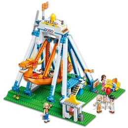 Wholesale building blocks pirate ship - 780pcs creators pirate ship building block nanoblock bricks model educational toys for children gifts