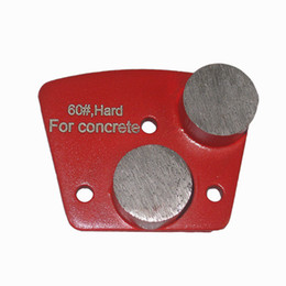 Алмазные шлифовальные башмаки с металлической связкой KD-A50 Алмазный шлифовальный диск с двумя круглыми сегментами для бетона и пола Terrazzo 9 штук Один комплект от