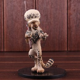 Figura de ação trafalgar law on-line-One Piece Action Figure Trafalgar Law como Snow Leopard PVC brinquedo modelo colecionável