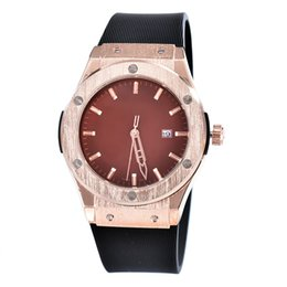 Wholesale couple watches automatic - 2018-Relogio new black rubber watchband fashion quartz men stainless steel automatic sports watch, couple watches, black dial,mens watches..