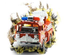 Canada Vente d'inertie de jouets pour enfants de voiture Grand simulation échelle camion de pompier modèle de jouet en gros cheap large trucks Offre