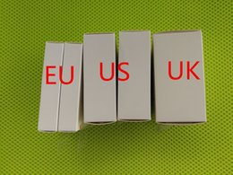 Adaptador de manzana original online-5V 1A EE. UU. / UE Enchufe USB AC Adaptador de corriente Cargador Adaptador de pared carga Con embalaje original al por menor