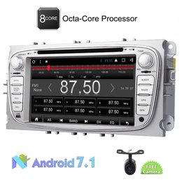 Wholesale Max Building - Eincar Car dvd Stereo Radio Audio Android 7.1 Octa Core 2GB Car GPS Navigation for Ford S-max 2008-2012 Focus 2008-2010 Galaxy 2010-2012