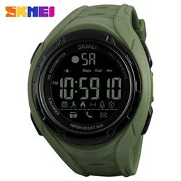 2019 умные спортивные часы SKMEI 1316 Smart Watch Analog Digital Fashion Casual Sports Wristwatch 5ATM Waterproof Backlight BT Multifunctional Men Watches скидка умные спортивные часы
