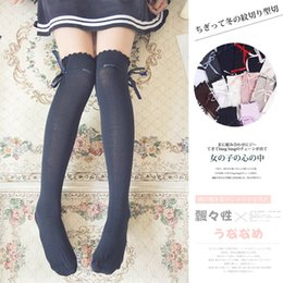 Wholesale Adults Socks - wholesale 10 pairs lot  kawaii japanese style lady OVER KNEE sexy THIGH HIGH stockings lolita harajuke for adult women