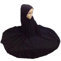 Wholesale Abaya Scarf - Muslim Niqaab Islamic Hijab Scarf Woman Islam Jilbab Cap Abaya 130cm Super Long