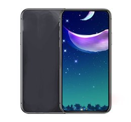 Wholesale Mobile Smart Cell Phone Unlock - Goophone X I8plus S8 plus Note 8 android Quad Core Smartphone mobile show Octa 64GB 4G LTE Unlock Cell Phones Free DHL