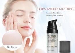 Échantillons de gel en Ligne-SACE LADY Tous les mattes Pore Invisible Visage Amorce Lissage Hydratant Finition Sans Finition Base De Maquillage Taille de l'Échantillon 6ml Marque Faciale Maquillage