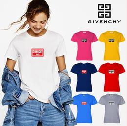Donne t shirt en Ligne-NOUVELLE marque française DONNER 100% coton impression femmes T-shirt marque vêtements à manches courtes en coton élastique casual femmes T-shirt s-xl