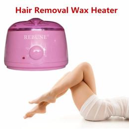 Wholesale Paraffin Wax Spa - REBUNE Wax Warmer 110V 220V 500ml Pro Hair Remover Machine Paraffin SPA Beauty Wax Heater Hotter Pot Mini Hair Removal Care Tool