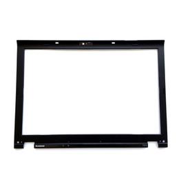 Véritable lunette en Ligne-Véritable Nouveau pour Lenovo ThinkPad T410 T410i cadre d'écran LCD couvercle de la lunette avant avec logo autocollants 60Y5454