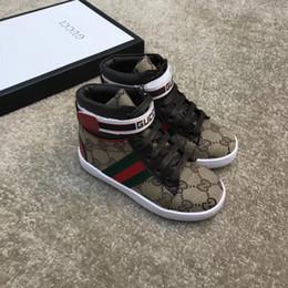 Chaussures de dressage pour garçon en Ligne-Chaussures Enfants Baskets Enfants Chaussures Pour Enfants Mode 2018 Enfants Garçons Filles Chaussures Bébé Garçon Chaussures Bottes Bébé Chaussures Décontractées Robes Bébé Fille