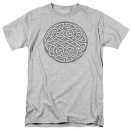 d60b4e203752b CELTIC KNOT ART Adult T-Shirt All Sizes Print 100% Cotton Short Sleeve