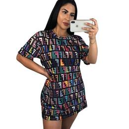 f3d5412c97 NEW Summer O Neck Short Sleeve Mini Dress Lady Casual Streetwear Loose  Vestidos Fashion Printed T Shirts Sundress Robes