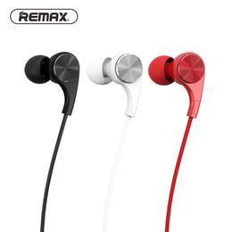 2019 câbles remax REMAX Écouteurs intra-auriculaires colorés Hifi Écouteurs Quantité Câble Casques Mode Musique (RM 569) promotion câbles remax