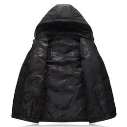 Wholesale Cheap Windbreaker - 4XL-9XL Winter Jacket Men Double Side Wear Black Male Coat Cheap Down Jacket Parkas Hooded Windbreaker Snow Cold Jacket 8001