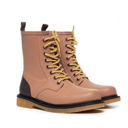 Wholesale Lace Up Rain Boots - Wholesale- Hot New Men Fashion Lace-up Rubber Ankle Rain Boots British Style Male Anti-slip Rainboots Short Waterproof Water Shoes #TR4