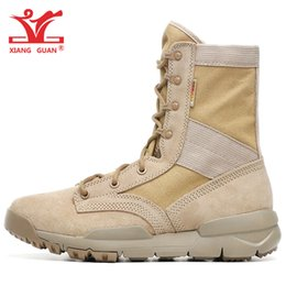 Wholesale army combat boots - Men Hiking Boots Women Sandy Higtgh Top Special Field SFB 8 Combat Desert Military Army Trail Tactical Shoes Outdoor Sports Walking Sneakers