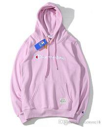 2019 diseñador Hoodie Street Hoodie para hombre mujer tendencia marca  sudadera Hip Hop Hood estilo de lujo suéter para hombre Hoodies 13 Color af51088caf97