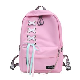 665ddb9998 sac à dos pour jeune fille scolaire coréenne Promotion Été Mode Femmes Sac  À Dos Étudiant