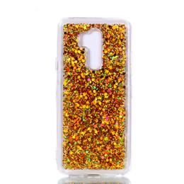 étui à tranches Promotion Mode Flash Slice Cover Pour LG G7 Acrylique Soft TPU Silicone Mobile Téléphone Case Coque Pour LG G7