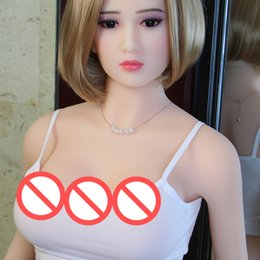 Wholesale japanese beautiful sex man - Japanese Attractive Grace Solid Silicone Plump Beautiful Breast and Ass Pussy Sexy Naked doll adult love for men