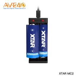 Orijinal Xtar MC2 Şarj 18650 Pil Çift Yuvası Şarj Hızlı Şarj fit 18350 18550 18650 16650 Li-Ion Piller Ni-MH pil nereden