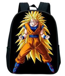 30336f347258 3d christmas gift bags UK - Anime Dragon Ball Z 3D Print Backpack For Children  Boys