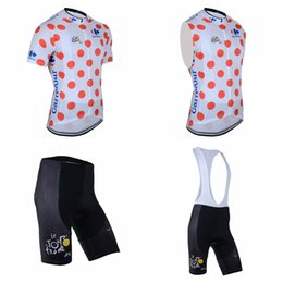 Wholesale tour france vests - TOUR DE FRANCE team Cycling Short Sleeves jersey (bib) shorts Sleeveless Vest sets Hot Sale Good quality and low price F1555