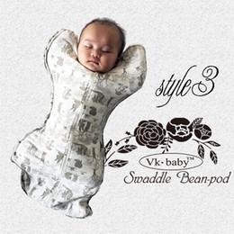 Wholesale Thin Cotton Blanket - newborn thin baby swaddle pod soft infant Blanket & Swaddling wrap sleepsack swaddle ban-pod sleep bag