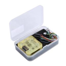 2019 битовый контроллер Новый CC3D 32 бит полета контроллер пластиковый защитный чехол контейнер оболочки желтый с контроллер полета случае дешево битовый контроллер