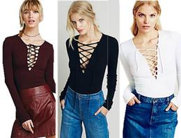 Wholesale Black Tie Neck Blouse - Hollow out Strappy Front Women Autumn Plus Size Lace Up Causal Long Sleeve Shirt Women Blouses Ladies Tops Black Blouse Tie up