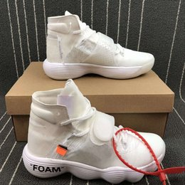 Wholesale Courts Basketball - New Mens White Basketball Shoes 2017 FK Sport Trainers Sneakers Outdoor Running Shoes Top Quality with original box