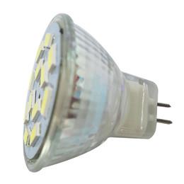 Wholesale Led Gu4 - DSHA Hot Sale 6W GU4(MR11) LED Spotlight MR11 12 SMD 5730 570 lm DC 12V, White