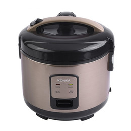 Wholesale Mini Electric Cooker - KONKA 3L Electric Rice Cooker Beach Rice Hot Cereal Cooker Slow Cooker, Rice Cooker, Steamer,Yogurt Maker and Warmer EU plug