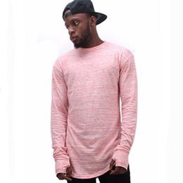 Estendere Hip Hop Street T -Shirt Marca di moda all ingrosso T-shirt da uomo  Estate manica lunga Oversize Design Hold Hand 45dab55575d