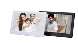 Wholesale Movies Clock - 10 inch Digital Picture Frame Photo Album High Resolution MP3 MP4 Movie Player Alarm Clock with Remote Control 20pcs lot DHL free shipping