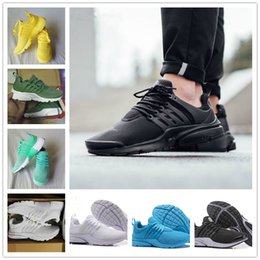 Wholesale Cheap Basketball Sneakers For Sale - Sale 2018 New Prestos 5 Running Men Women Shoes for Cheap Presto Air Ultra BR QS Yellow Black White Essential Basketball Jogging Sneakers