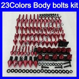 Wholesale Honda Mc19 Fairing - Fairing bolts full screw kit For HONDA CBR250RR 88 89 MC19 CBR250 RR CBR 250RR CBR 250 RR 1988 1989 Body Nuts screws nut bolt kit 23Colors