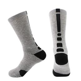 Canada Chaussettes de sport en plein air pour hommes d'hiver de basket-ball chaussettes de basketball de ski élite de football pour hommes en coton à la mode hommes longues chaussettes de vélo jambières Offre